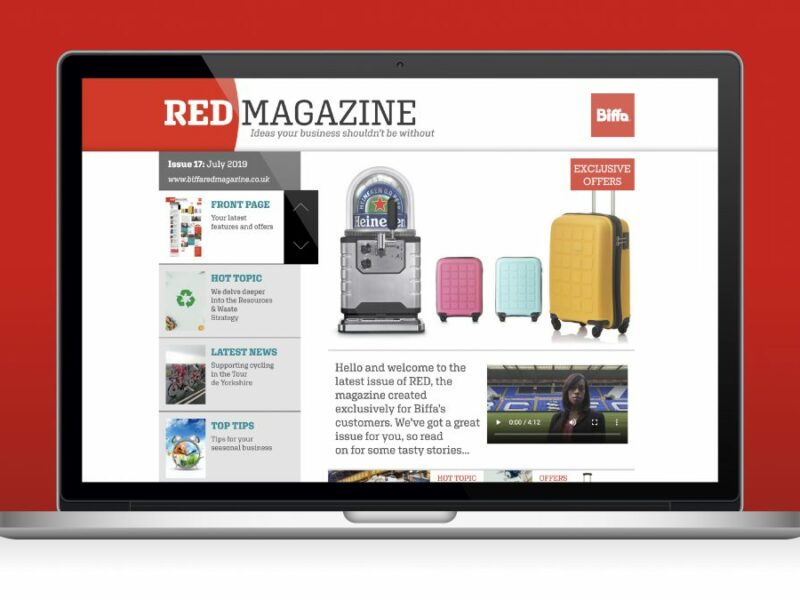 44 Digital Marketplace Case Study Biffa Red Magazine