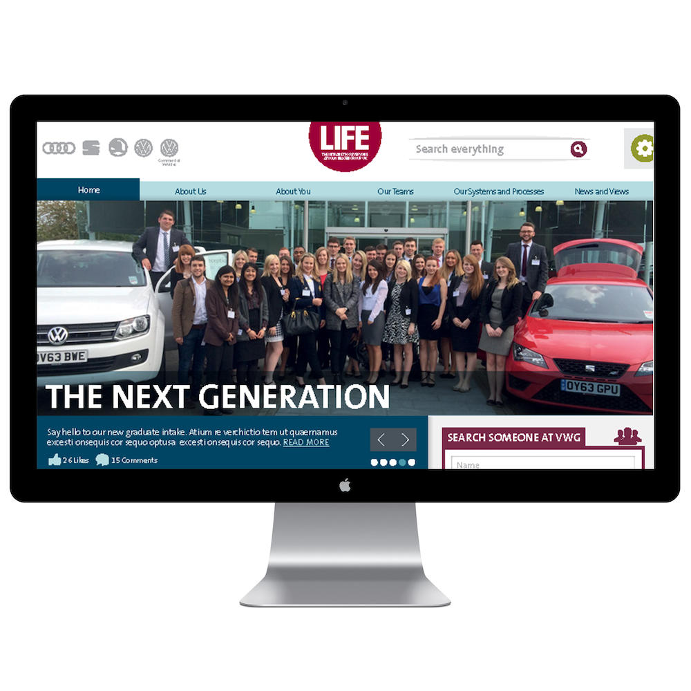 44 Digital Workplace Case Study Volkswagen Group Homepage